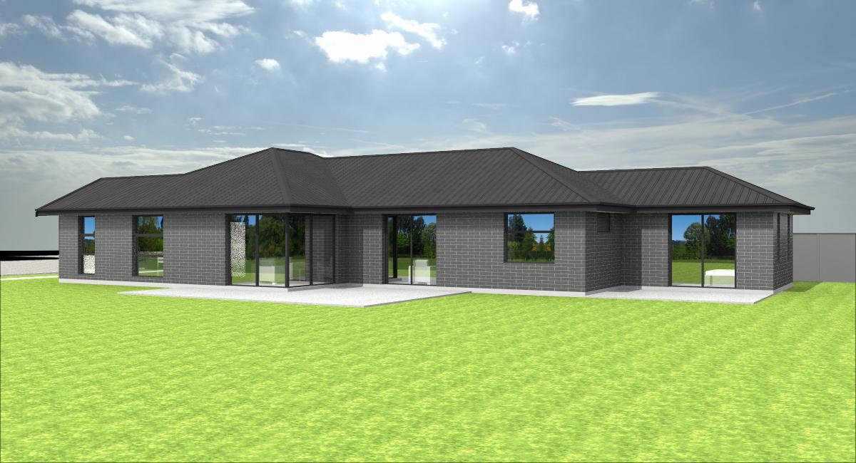Building Company Hamilton Floor Plan Opoutere 3