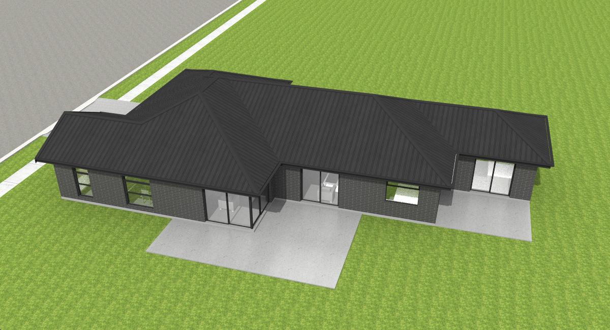 Building Company Hamilton Floor Plan Opoutere 4